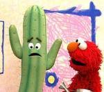 Muppet cactus