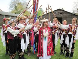 Morris Dancers and Maypole