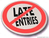 late entries