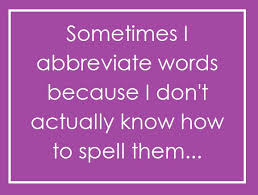 abbreviation
