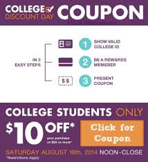 college discount 2