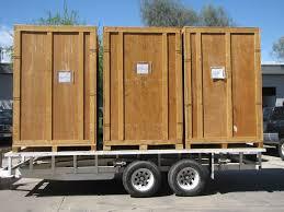three crates