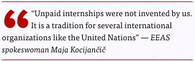 unpaid internships