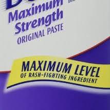 max strength paste