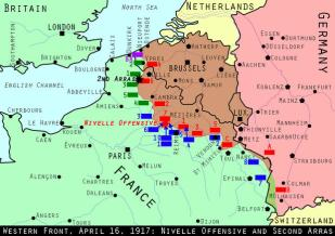 Western Front April 16 1917