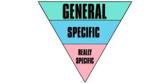 general to specific