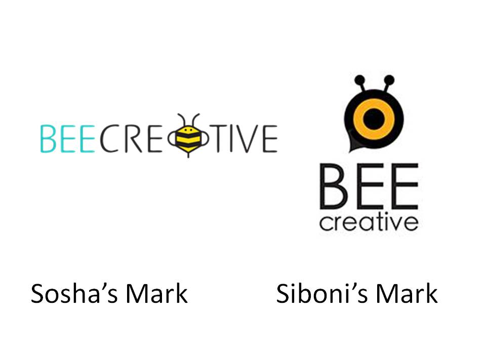 Bee Creative, but register your trademark or you may lose it