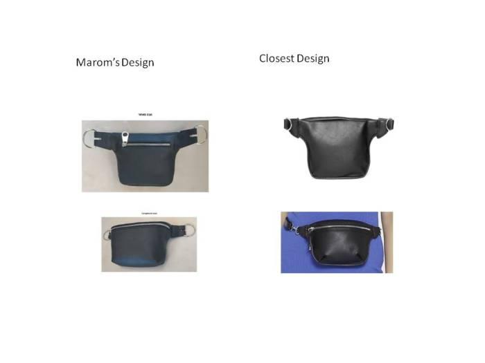 the unique design feature of Marom's Bumbag
